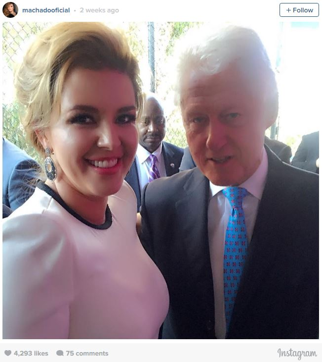 Hillary Clinton bruger porno stjerne Alicia Machado til at stoppe-4324