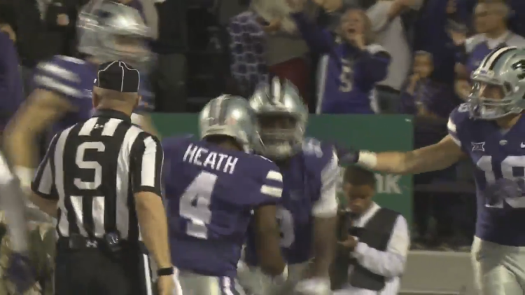 cheaper 79790 994ed Video – Kansas State Return Man Byron Pringle Is Punched In ...